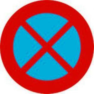Các loại biển báo cấm dừng đỗ xe