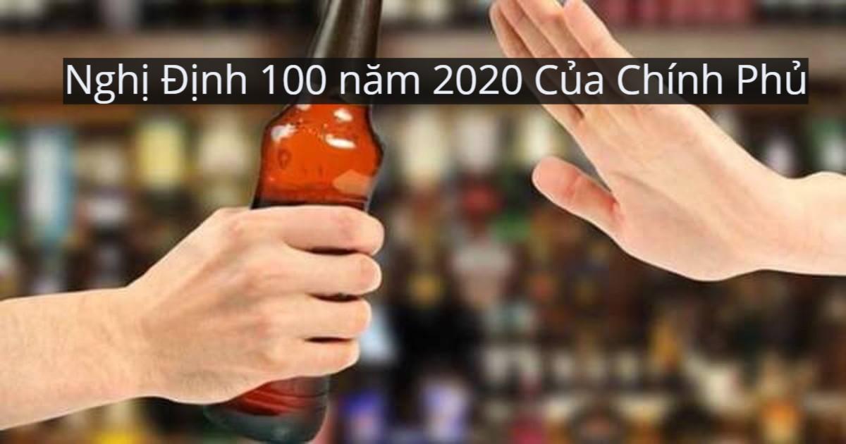Nghị Định 100 năm 2020 Của Chính Phủ